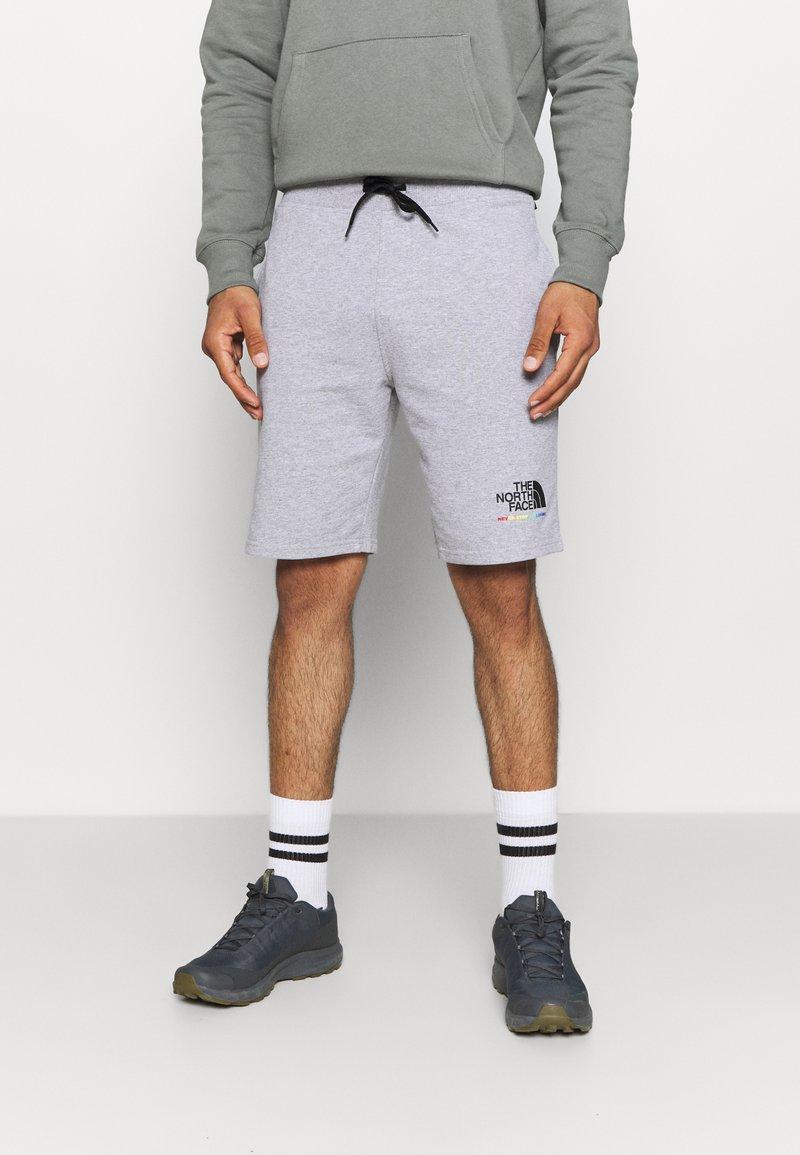 The North Face - RAINBOW SHORT - Pantalón corto de deporte - light grey heather