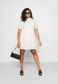 Vero Moda Curve - VMASTA 2/4 DRESS  - Day dress - birch - 1