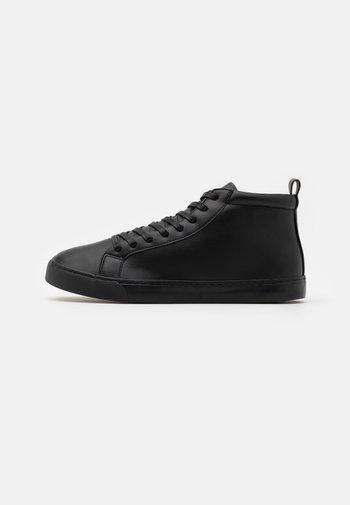 UNISEX - Höga sneakers - black