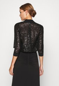 Swing - BOLERO PAILLETTE - Blazer - black - 2