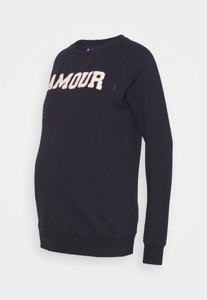 AMOUR - Sweatshirt - navy
