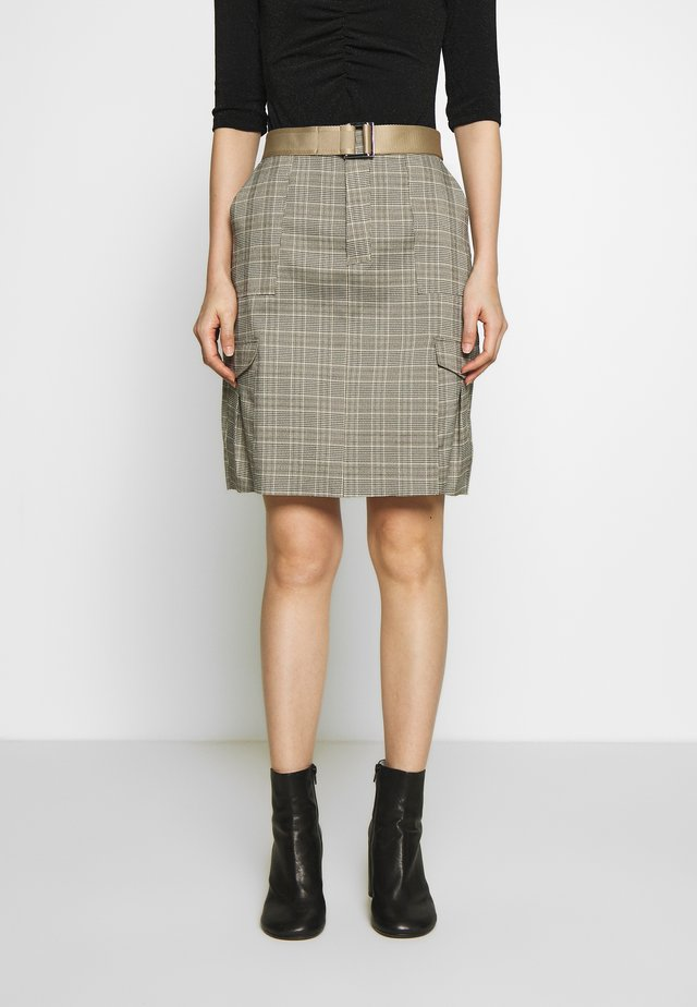 STRANDA SKIRT - Pencil skirt - sand