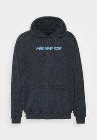 Mennace - MISTRESS TIE DYE HOODIE - Sweatshirt - black - 0
