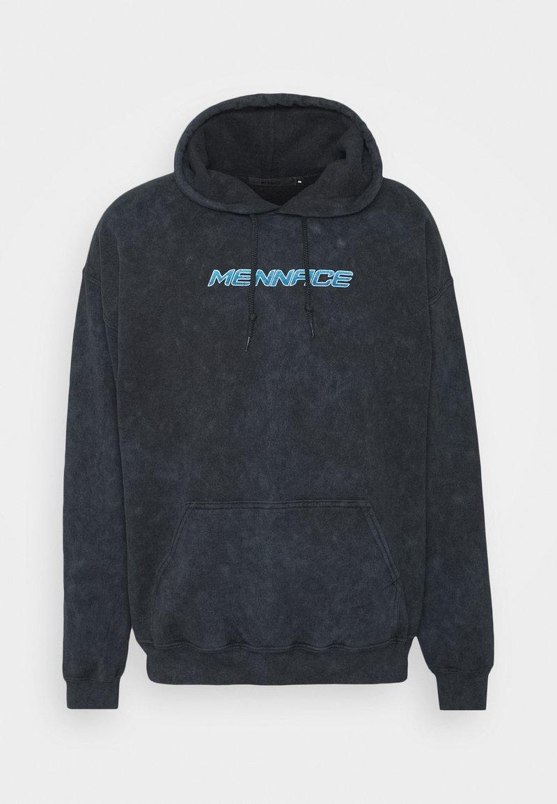 Mennace - MISTRESS TIE DYE HOODIE - Sweatshirt - black