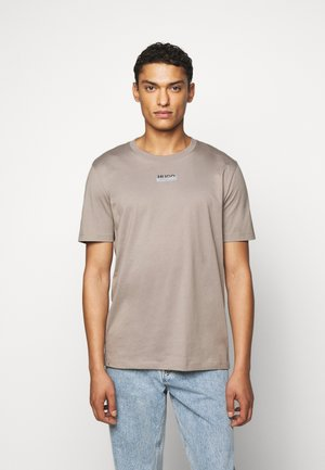 DURNED - Triko s potiskem - light brown