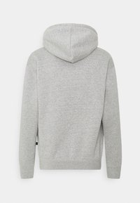 Nike SB - GRAPHIC HOODIE UNISEX - Sweatshirt - grey heather/black - 1