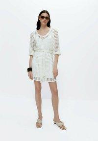 Uterqüe - Jumper dress - beige - 1