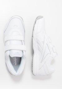 Reebok - WORK N CUSHION 4.0 KC - Walking trainers - white/cold grey two - 1