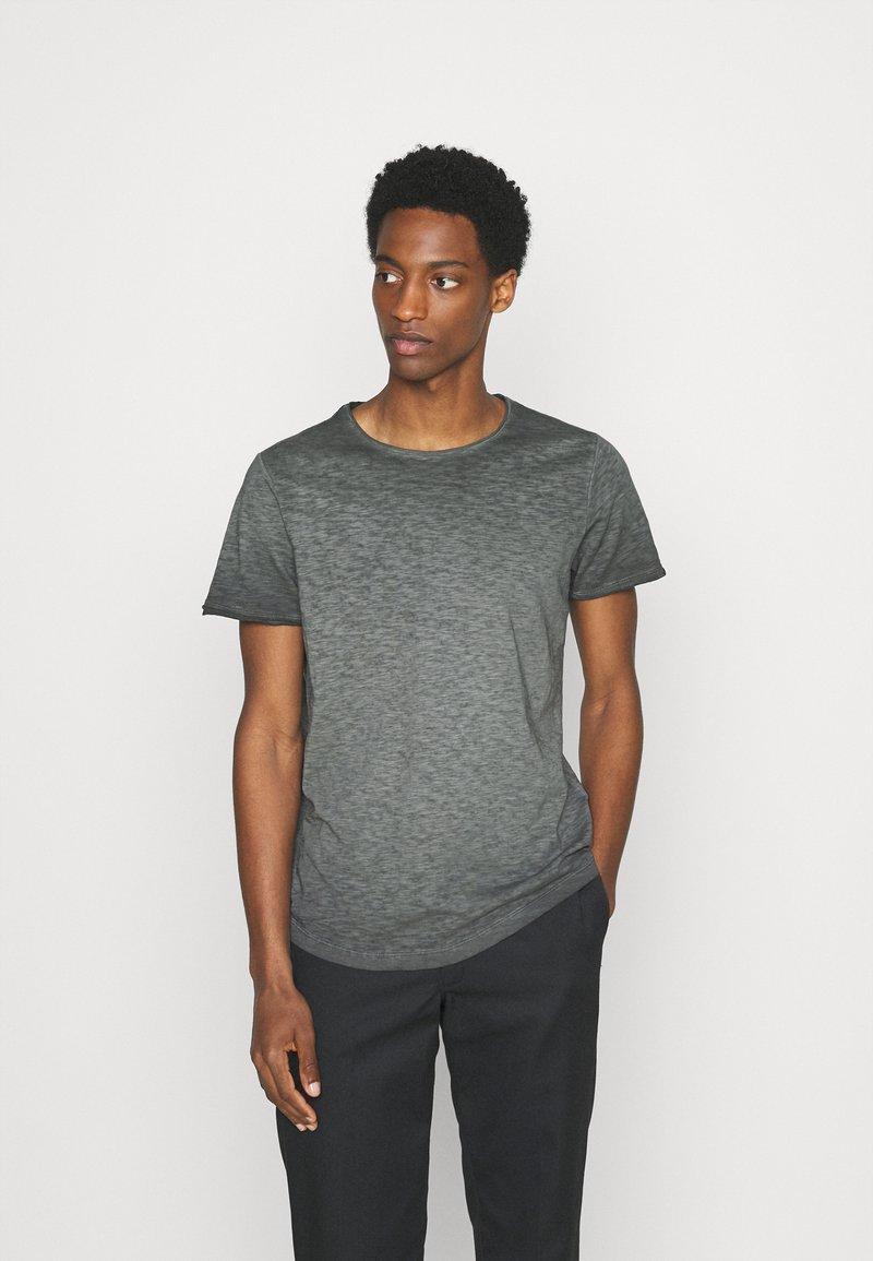 s.Oliver - KURZARM - Jednoduché triko - grey