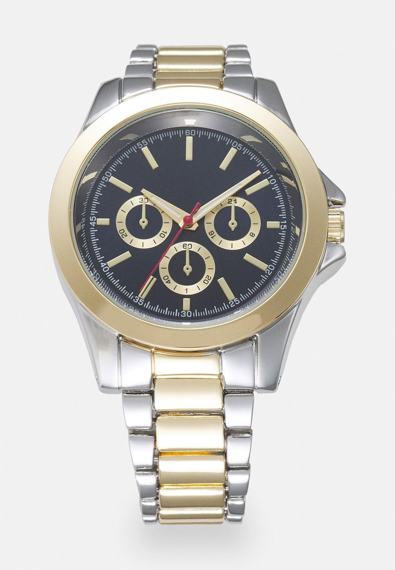 Topman - MIXED WATCH - Watch - gold-coloured/silver-coloured/blue