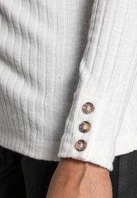 Esprit - HIGHNECK - Long sleeved top - off white - 4