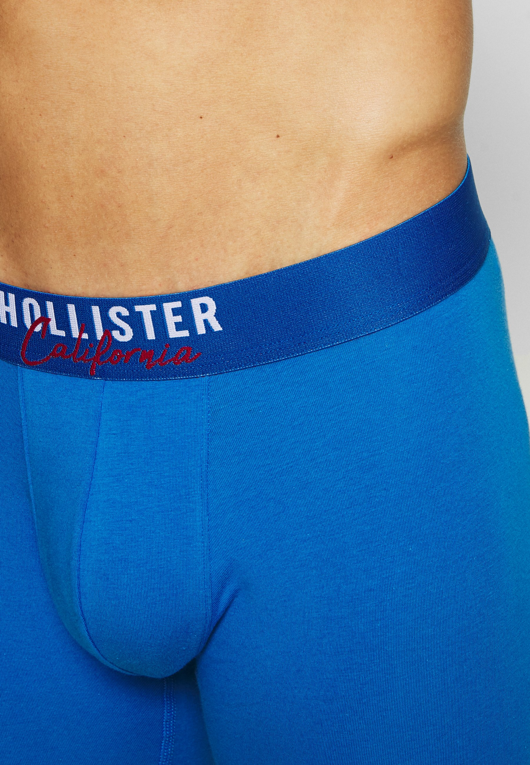 Hollister Co. Solid Chain 3 Pack - Underbukse Red/blå