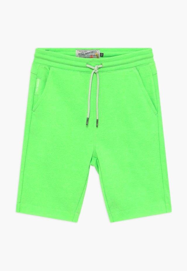 Teplákové kalhoty - neon yellow