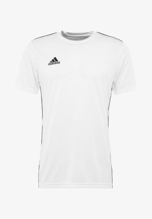 AEROREADY PRIMEGREEN JERSEY SHORT SLEEVE - T-Shirt print - white/black