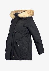MAMALICIOUS - MLARUNA ZIPPY SIDE PADDED JACKET - Light jacket - black - 5