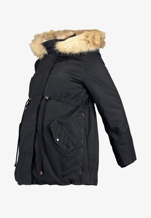 MLARUNA ZIPPY SIDE PADDED JACKET - Välikausitakki - black