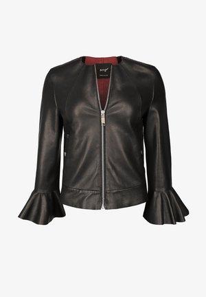 ELEGANT UND SCHICK LOVING - Leather jacket - black