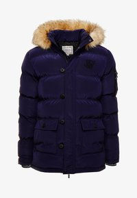 SIKSILK - PUFF - Cappotto invernale - navy - 3
