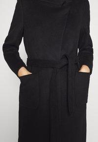 Bruuns Bazaar - JASMINA PERLE COAT - Klasický kabát - black - 7
