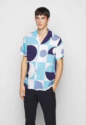 CAMP COLLAR COPIC - Shirt - sky blue