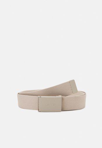 WORDMARK BELT UNISEX - Belt - beige