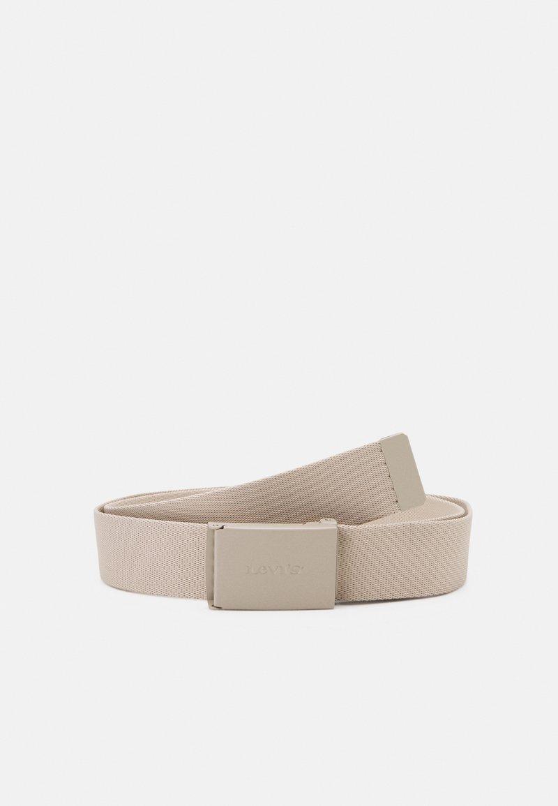 Levi's® - WORDMARK BELT UNISEX - Belt - beige