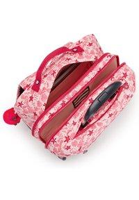 Kipling - School bag - pink leaves - 3