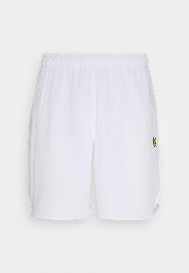 TRAINING SHORTS - Sports shorts - white
