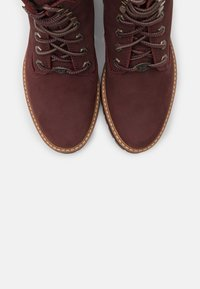 Timberland - COURMAYEUR VALLEY YBOOT - Lace-up ankle boots - burgundy - 5