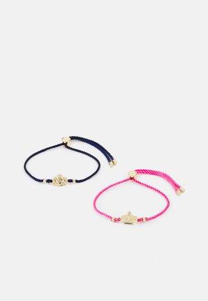 CROWN CREST SLIDER 2 PACK - Bracelet - gold-coloured/pink/navy