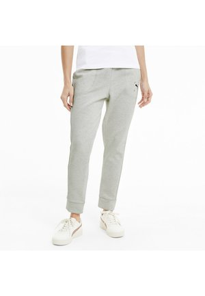 NU TILITY PANTS - Tracksuit bottoms - white heather
