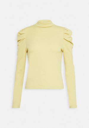 RONJA - Long sleeved top - yellow dusty light
