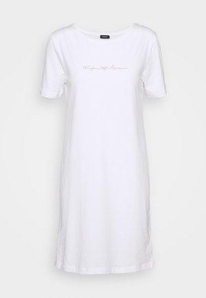 NIGHT DRESS - Nightie - bianco white