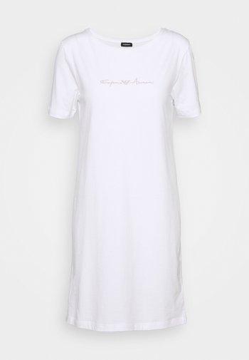 NIGHT DRESS - Nattskjorte - bianco white