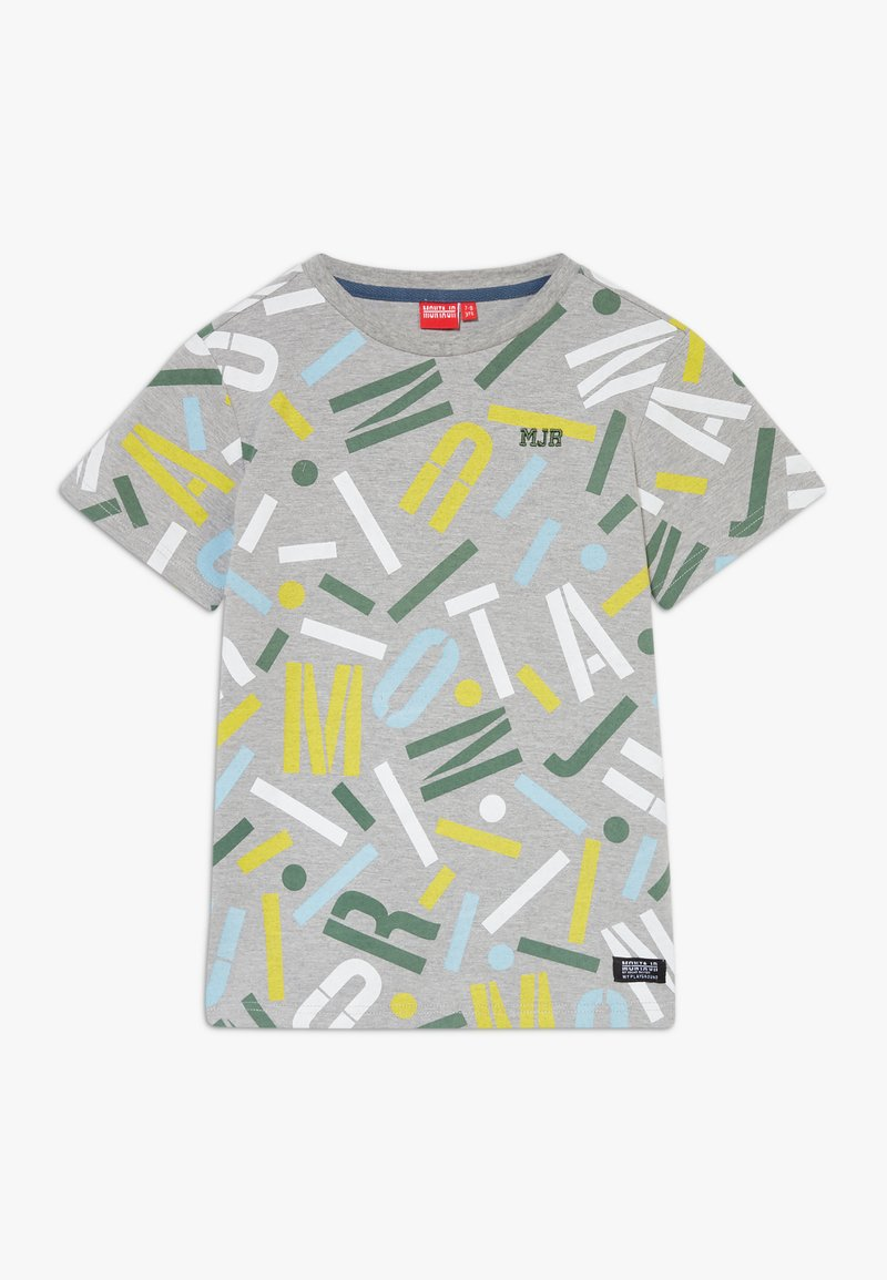 Monta Juniors - TUCSON - T-shirts med print - heather grey
