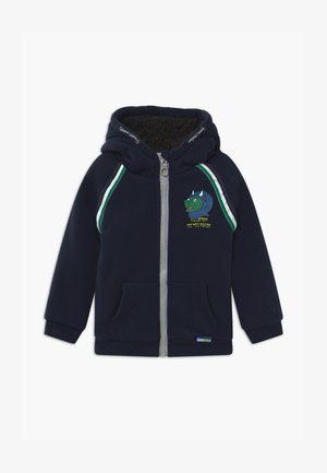 SMALL BOYS - Mikina na zip - navy blazer