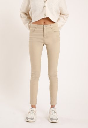 Skinny džíny - beige