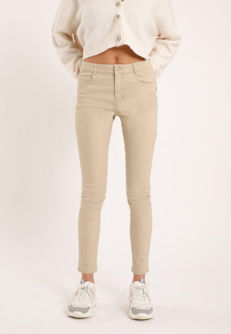 Pimkie - Jeans Skinny Fit - beige