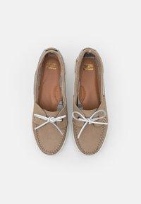 Barbour - MIRANDA - Boat shoes - stone - 4