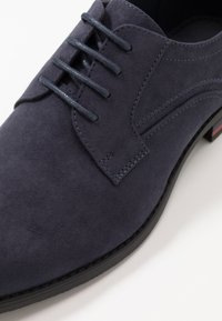 Pier One - Smart lace-ups - dark blue - 5