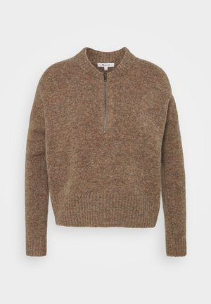 WELLS HALF ZIP - Jumper - heather autumn