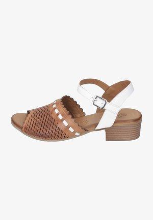 Sandals - coconut/weiß