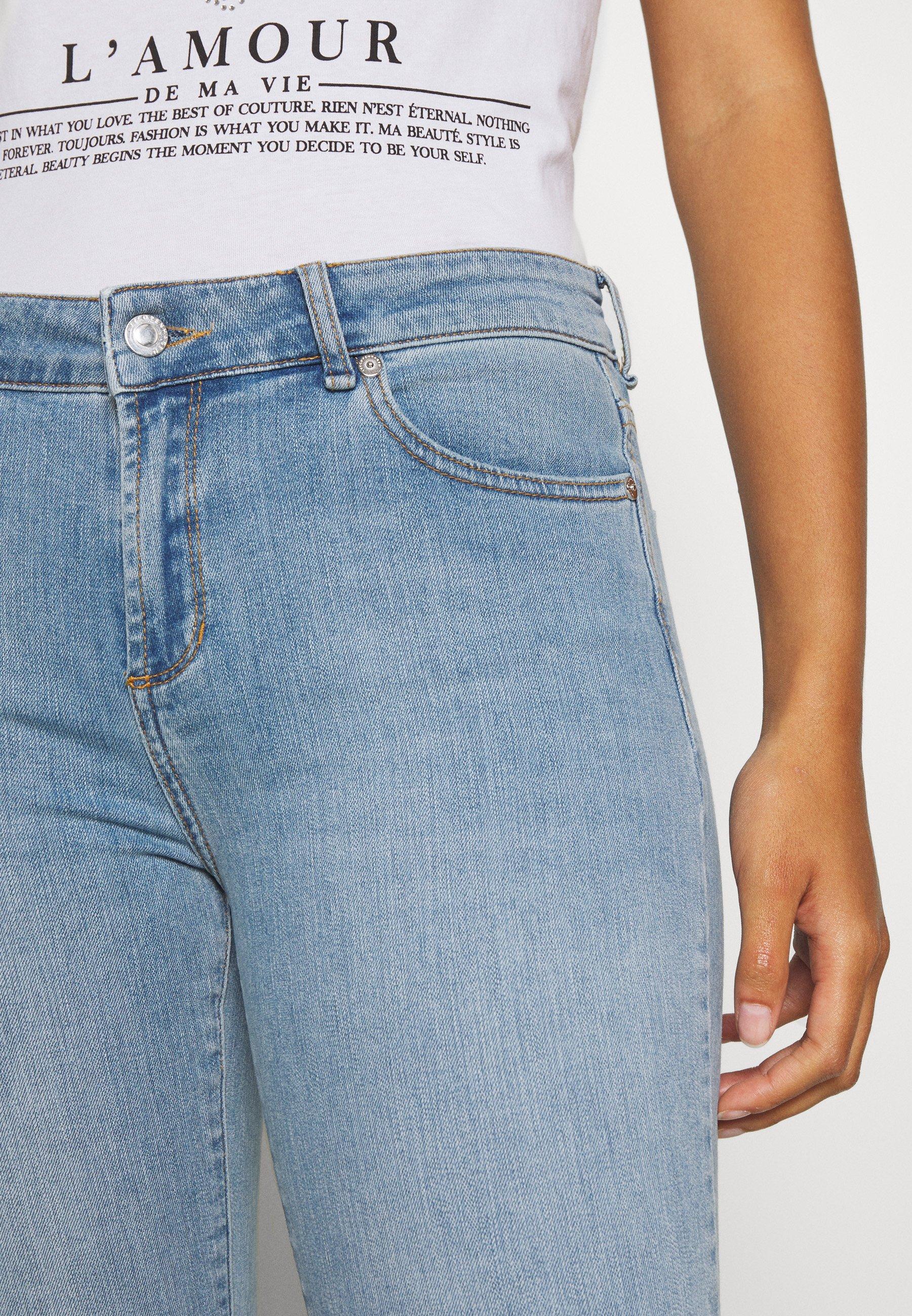2nd Day FIONA Jeans bootcut dark blueblå denim Zalando.no