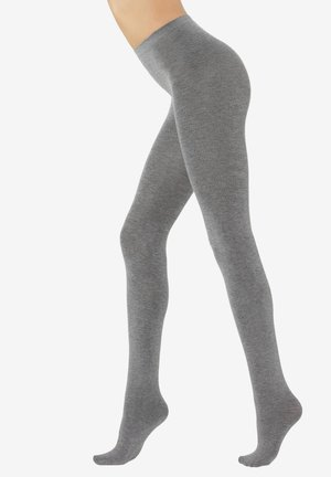 COLLANTS DOUX AVEC CACHEMIRE - Tights - grey