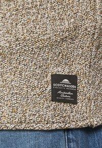 Scotch & Soda - LIGHTWEIGHT BLEND PULL IN STRUCTURED - Maglione - tabacco melange - 5