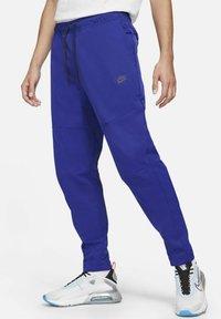 Nike Sportswear - Tracksuit bottoms - deep royal blue/black - 0