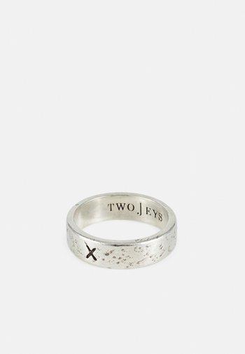 X RING UNISEX - Ringar - silver-coloured