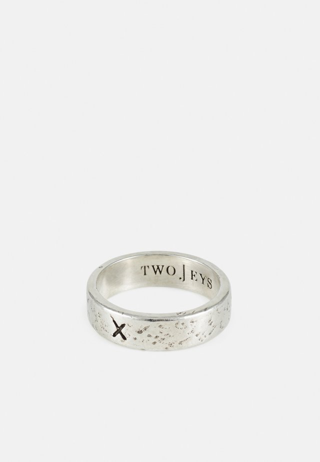 X RING UNISEX - Ring - silver-coloured