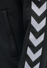 Hummel - Zip-up hoodie - black - 6
