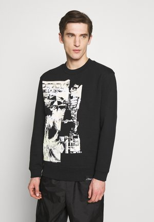 POSTCARD PRINT - Sweatshirt - black